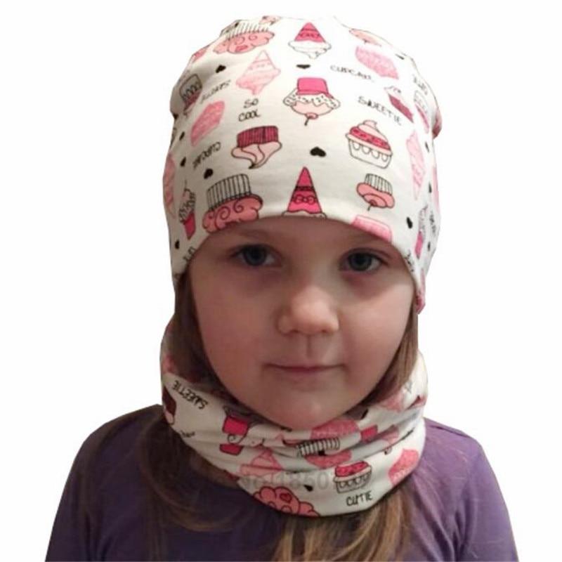 Topi bayi untuk Anak Perempuan Kartun Cetak Anak-anak Topi Bayi - Pakaian bayi - Foto 3