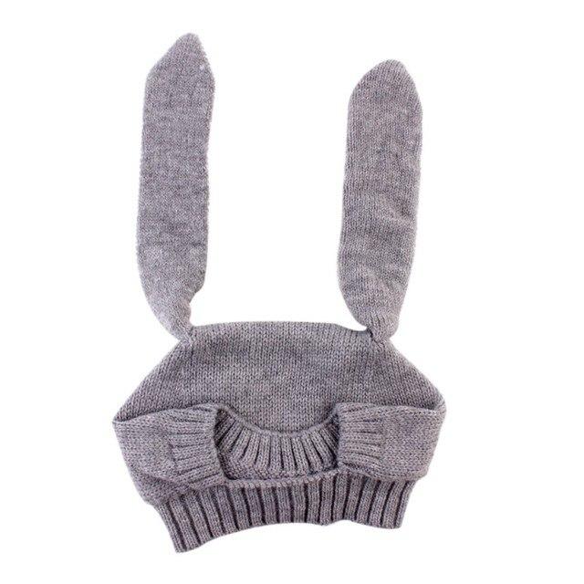 Nueva Lindo Conejo Orejas de conejo Del Sombrero Del Niño Del Bebé ...