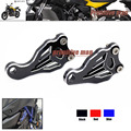 For YAMAHA MT-07 MT 07 MT07 FZ07 FZ 07 FZ-07 2014-2016 Motorcycle  Fixed Frame and Engine Mounting Bracket Slider Cover Black