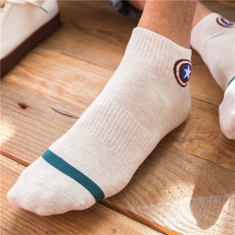 хлопок мужские носок; для мужчин секс; Материал:: Хлопка; комикс Марвел;