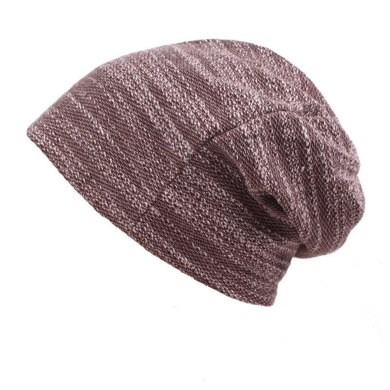 Hat men's Winter Beanie Man Skullies Knitted Beanies Women New Beanies Hip-Hop Collar Scarf Hats for Men Women Skullies Baggy