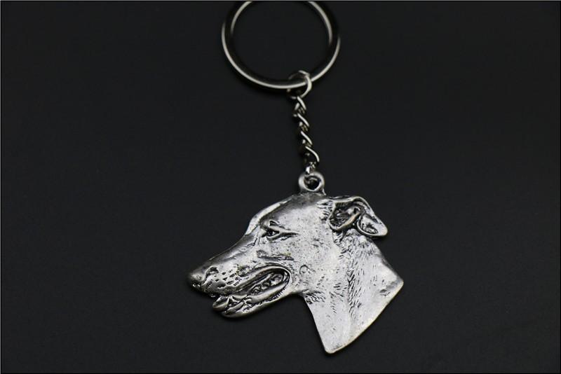 Новая мода Грейхаунд собака брелок ювелирные изделия Популярные