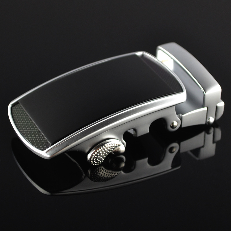 3.5cm Width Men 's Alloy Oval Automatic Belt Buckle No Belt Men's Fashion Leather Belt Buckle Head Men's Accessories CE25-0185