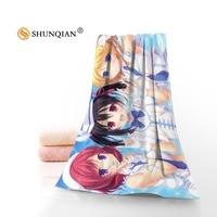 New Saiki Kusunokio's disaster Towel Printed Cotton Face/Bath Towels Microfiber Fabric For Kids Men Women Shower Towels A7.24