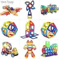 Vavis Tovey 3D Magnetic Blocks Educational DIY Accessory Mini Sets Building Magnet Designer Constructor toddler Toys kids Gift