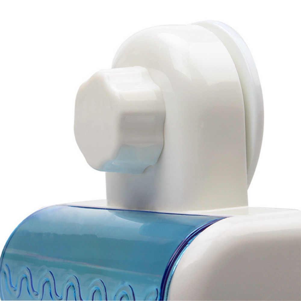 Nowa odporna na kurz uchwyt na szczoteczki do zębów do łazienki kuchnia rodzinny uchwyt dla Toothbrushs ssania uchwyt ścienny hak 5 stojaki