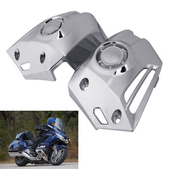 Motorcycle Moto Chrome Lower Cowl Covers For Honda Goldwing 1800 GL1800 2018-2020