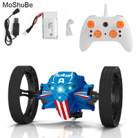 Children Intelligent Toys 2 4G Wireless Remote Control Jumping Car 2 Wheels Electric Stunt Bouncing Cars