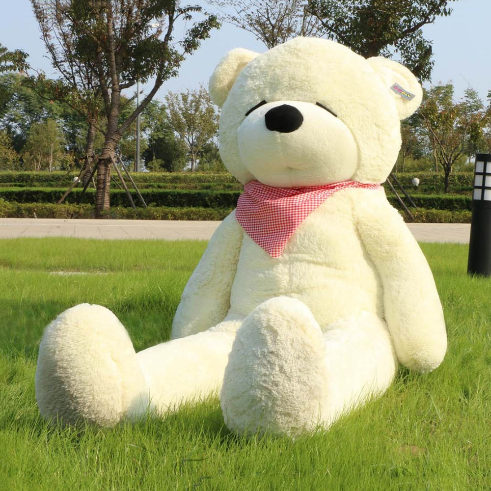 Joyfay 71 180cm White Giant Teddy Bear 1.8m Sleepy Huge Stuffed Plush Animal Big Soft Toy Birthday Valentine Anniversary gift archie giant comics 75th anniversary book