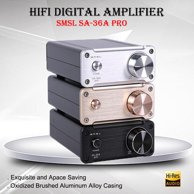 все цены на SMSL SA-36A Pro portabble class d power amplifier audio hifi digital amplifier professional audio amplifier TDA7492PE amplifiers