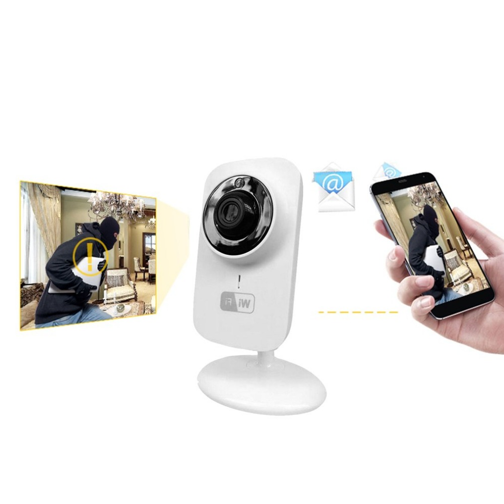 Mini WIFI Wireless IP Camera Home Surveillance Security Camera Baby Monitor Two-way Audio Night Vision 2 4ghz wireless night vision surveillance camera with 2 4 lcd handheld two way speaker receiver