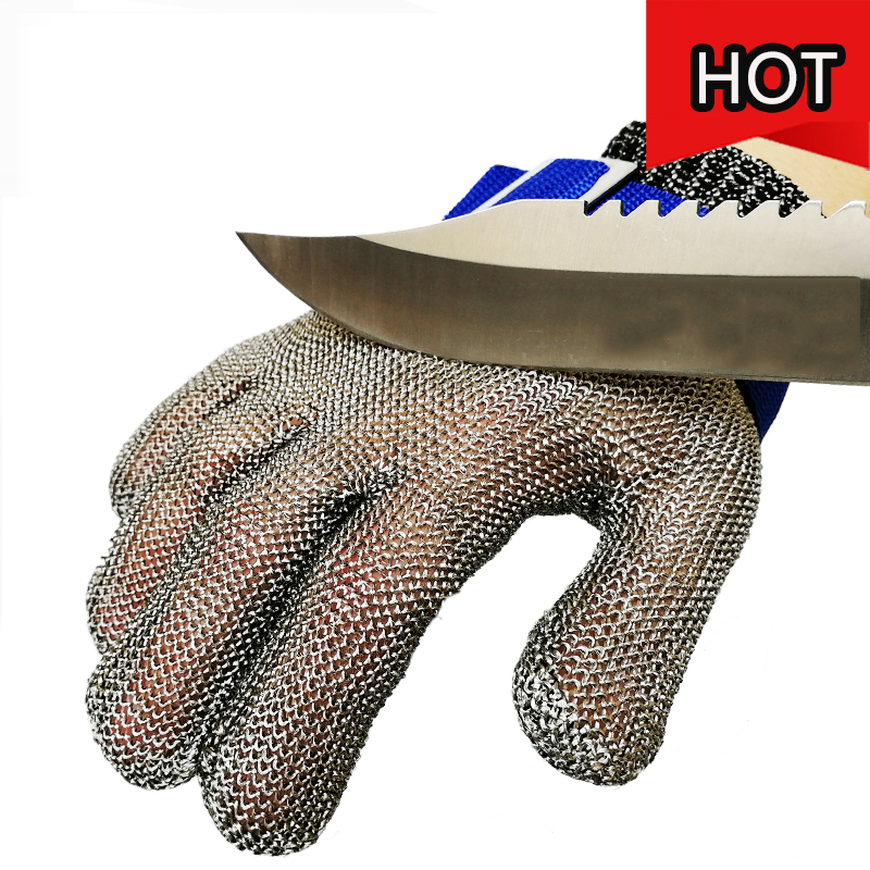 Anti Cut Gloves Safety Gloves Food Grade Hand Protection Work Gloves Meat Butcher Cut Resistance Wire Mesh Butcher butcher