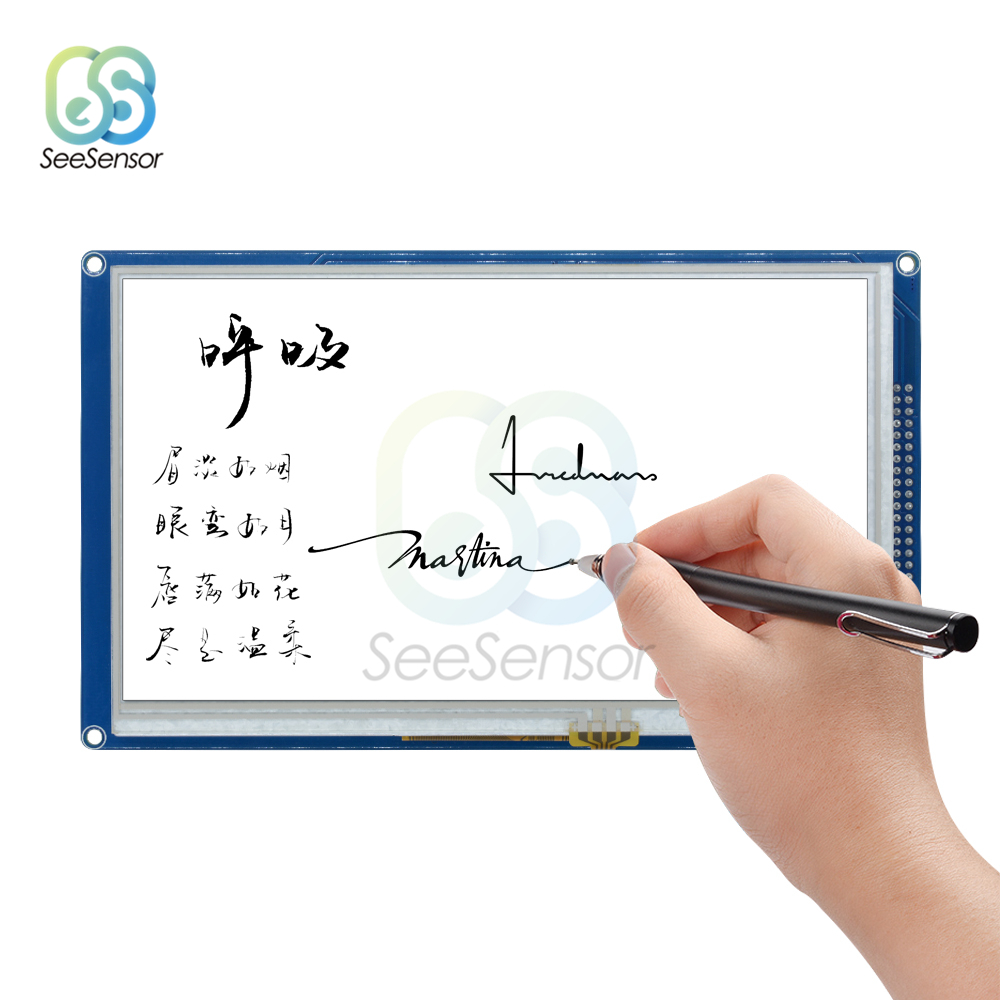 7 inch LCD Touch Screen Module 800X480 TFT Display HDMI for Arduino