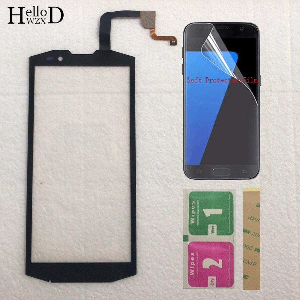 5.7'' Mobile Phone Touch Screen Digitizer Panel Front Glass For Blackview BV9000 BV 9000 Touchscreen Sensor + Protector Film