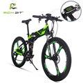 Richbit RT-860 bici Elettrica Della Bicicletta Mountain Bicicletta Elettrica 36 V 250 W * 12.8Ah Batteria Al Litio EBike All'interno Li- batteria ebike