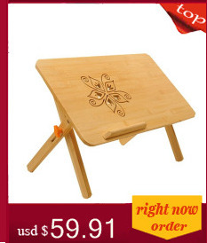 Z#7992 The folding notebook comter on bed with a small desk table simple dormitory lazy FREE SHIPPING