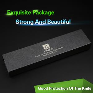 "Image 5 - XINZUO 3.5 ""אינץ קילוף סכין יפן דמשק VG10 פלדה החדש פירות קולפן סכין מטבח סכין אולטרה שארפ עם Rosewood ידית"