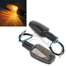 цена на Motorcycle Turn Signal Lights Blinker For Honda CB1300SF CB 400 VTR250 HORNET CB 600 1300  Accessories