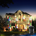Рождество Лазерный Проектор Огни 10 Сменные Шаблоны Открытый Украшения Партии Хэллоуин Пейзаж Патио Этап Шоу Огней