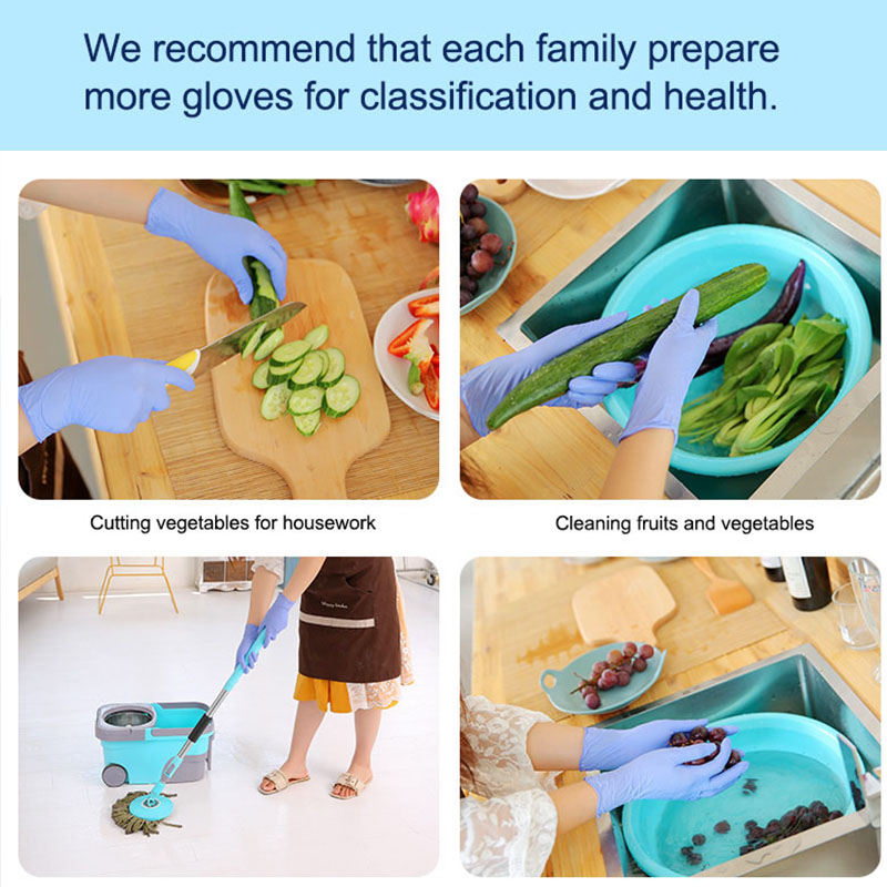 Image 3 - 50/100pcs lot Multifunctional Home Silicone Gloves Disposable Latex Universal Cleaning   Food Medical Cosmetic Disposable Gloves-in Household Gloves from Home & Garden