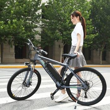Elektrikli Bisiklet 36 v 350 w 10AH 26 inç Alüminyum alaşımlı lityum pil 21 hız Dağ Bisikleti MTB Ücretsiz kargo fırçasız motor