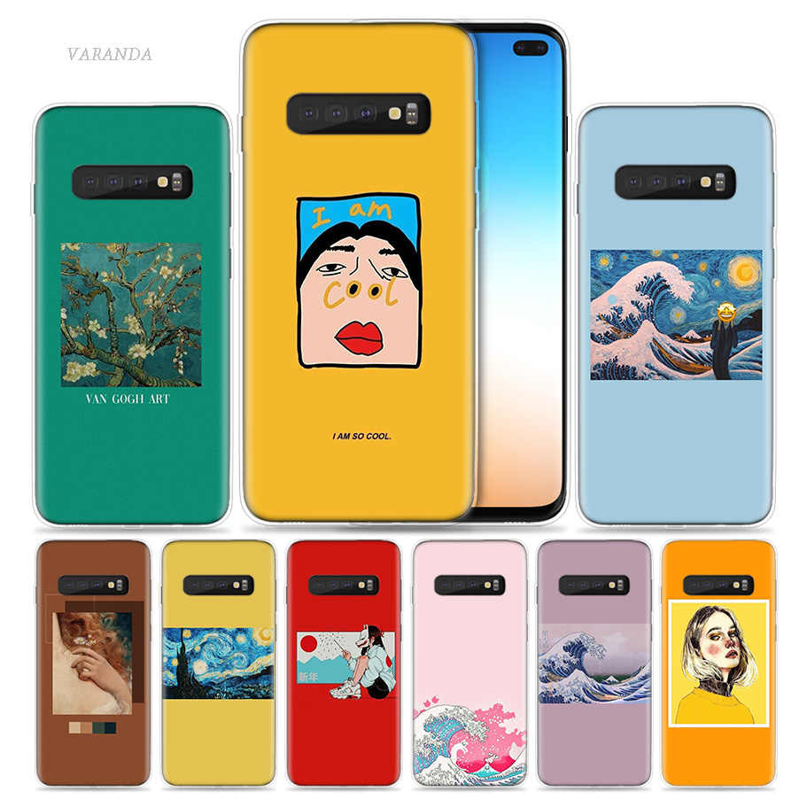 So Cool Starry Sky Case for Samsung Galaxy S8 S9 S10 5G S10e S7 Note 8 9 J4 J6 Plus J5 J8 2018 J3 Silicone Phone Bags Funda Capa