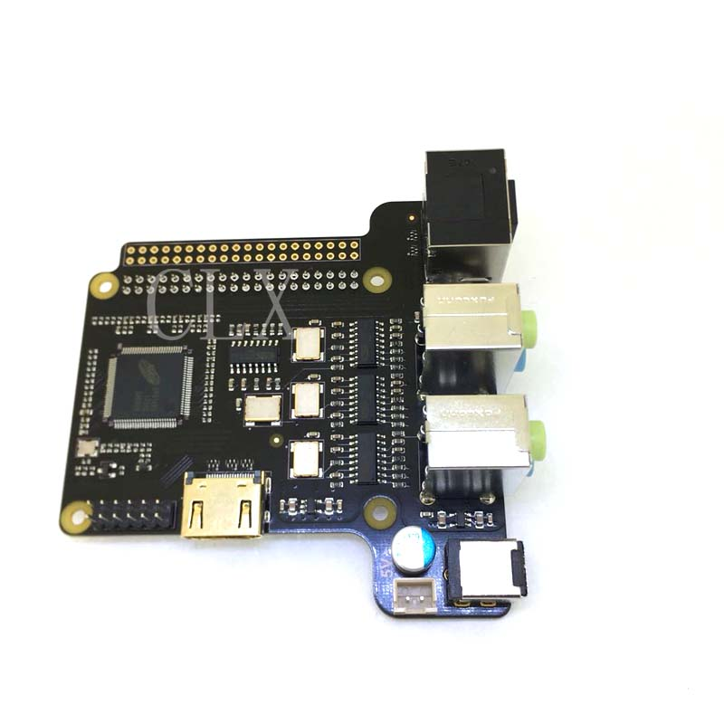 X6000 7 1CH Expansion Board for Raspberry Pi 3 2 Model B