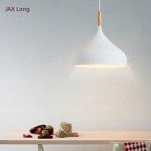 Modern 7 Colors Macaron LED Pendant Lights Aluminum Pendant Lamp Restaurant Living Dinning Room Cafe Bar Deco Lighting Luminaire