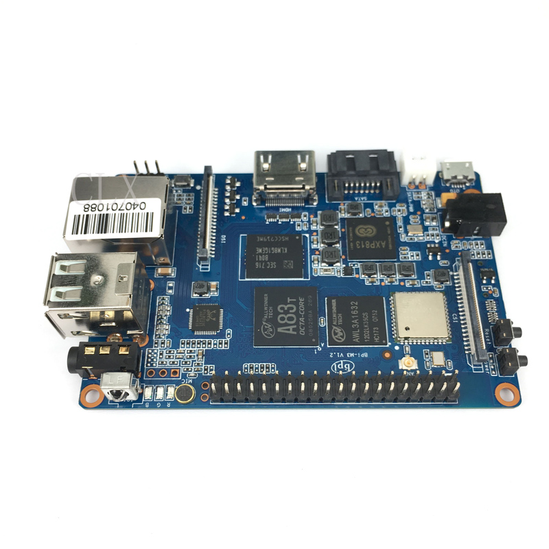 Banana Pi M3 A83T Octa Core 8 core 2GB RAM with WiFi Bluetooth4 0 Open source
