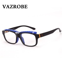 Vazrobe Professional Basketball Football Sport Glasses Frame Men Women with Strap Anti Explosion for optical prescription lens