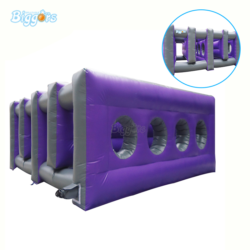 Commercial Inflatable Obstacle Game Inflatable Obstacle Course Inflatable Interactive Challenge Game With Blowers game inflatable cylinder gymex happy baby 121009