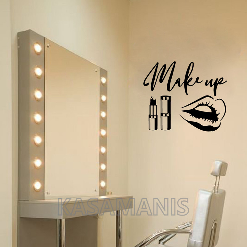 MakeUp Quote Wall Decals
