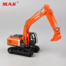 Collection DiecastHiachi 1/50 Scale Zaxis ZH200 Excavator Die-Cast Model Tracks Vehicle Toys Truck Car Vehicles Diecast Model doosan dx160w wheeled excavator 1 50 scale diecast model uh8134