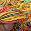 Женская разноцветная резинка, разноцветная эластичная лента диаметром 40 мм, 500