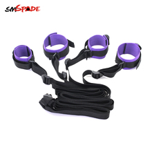 Smspade Restraints Bondage Handcuff & Ankle Cuffs Roleplay Adult Belt Chastity Female Adult Games Sex Toys for Couples Sex Shop