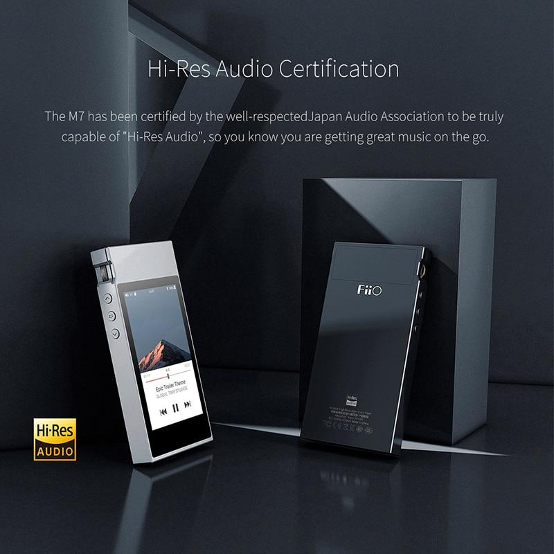 Image 4 - FiiO M7 аудио без потерь Музыкальный плеер MP3 Bluetooth4.2 aptX HD LDAC сенсорный экран с FM радио Поддержка Native DSD128MP3-плееры    АлиЭкспресс