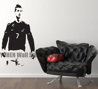 Cristiano Ronaldo Standing Children S Bedroom Decal Wall Art Sticker Picture