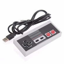 Classic wired usb controller gamepad joystick For NES game console Video Gaming Joypad for PC Mac Computer Windows