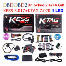 Newest KESS V5.017 V2.23 + KTAG V7.020 V2.23 No Tokens Limit KESS 5.017 + K-TAG K Tag 7.020 Used Online ECU Programmer DHL Free new ecm titanium 1 61 with 18475 driver can work with kess and ktag ecu programmer free shipping