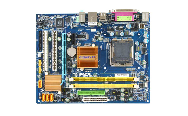 Gigabyte GA-G31M-ES2L original motherboard DDR2  LGA 775 G31M-ES2L Desktop motherboard Solid-state integrate board Free shipping asus g31m s support ddr2 775 pin integrated small board g31m g31 motherboard