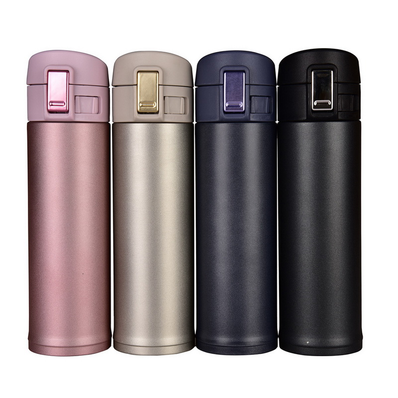 Urijk New Winter Traveling Portable Stainless Steel Vacuum Insulated Mug With Handle Bottle Upscale Gifts 350ml 500ml 2 Sizes(China)