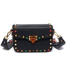 2017 de Lujo mujeres de los bolsos diseñador crossbody bolsos para mujeres de la manera del perno de hombro bolsos de marca famosa mujeres messenger bags
