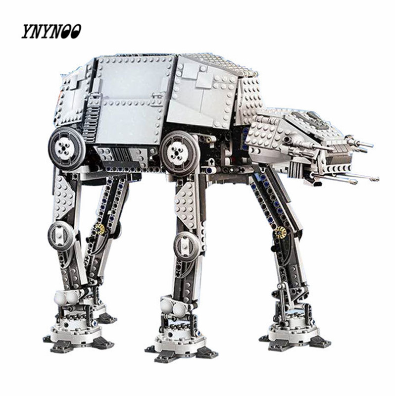 YNYNOO Lepin 05050 Star War Series AT-AT the Robot Electric Remote Control Building Blocks friend 1137pcs toy for children 10178 мужская футболка gildan 100% lol 9364