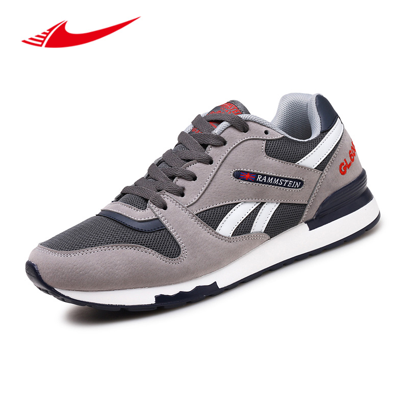 Classic Men Running Shoes Athletic Trainers Breathable Anti-Slippery Walking Jogging Sport Sneakers Zapatillas Hombre Deportiva 2017 running shoes men sneakers for men sport zapatillas deportivas hombre free run sneaker mens runners china wear resistant