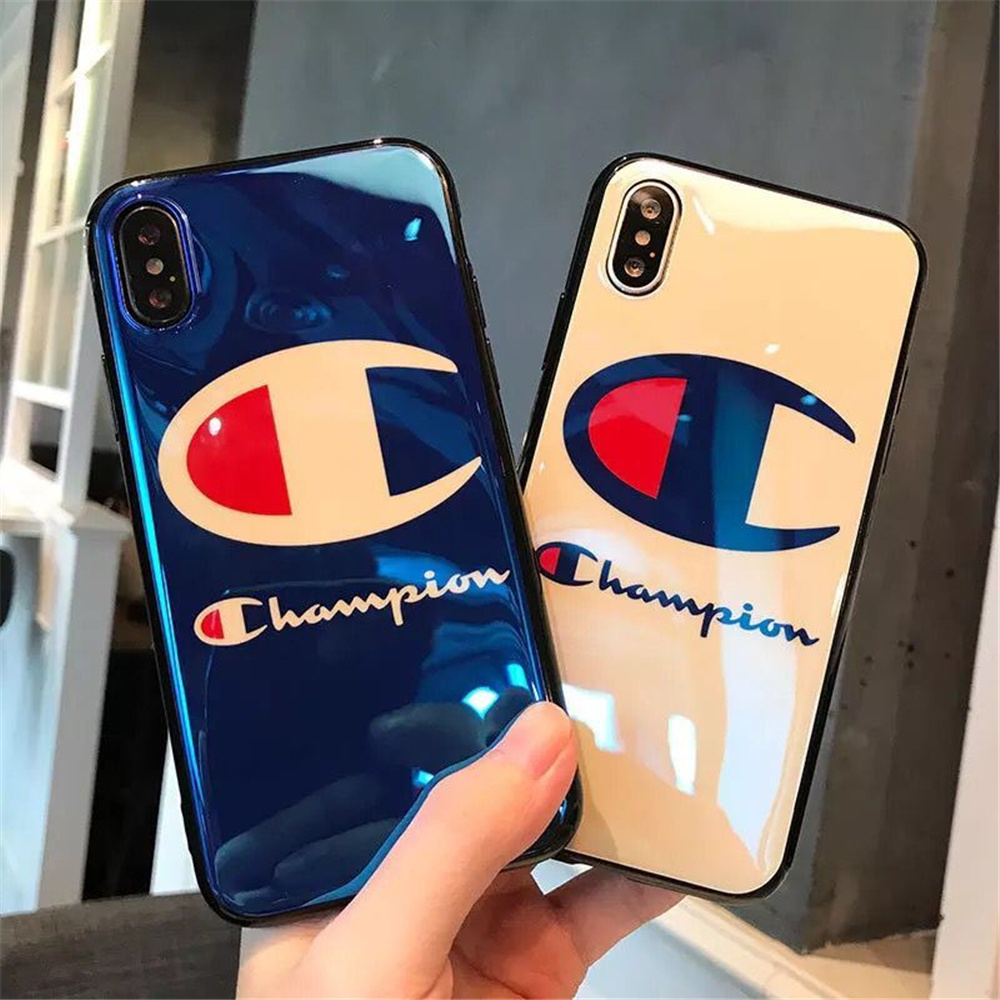 Fashion Champion Brand Blu Ray Imd Phone Case For Iphone X