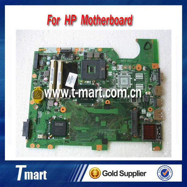 ФОТО for hp CQ61 G61 517839-001 DAOOP6MB6DO laptop motherboard GM45 for intel cpu with Integrated graphics card full tested
