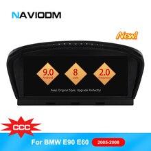 Naviodm android 9,0 автомобильный DVD мультимедийный плеер Автомобильный dvd-плеер Авто gps для BMW 3 Sereis/E90/5 серия/E60/E61/E62 CCC автомобили аудио bt