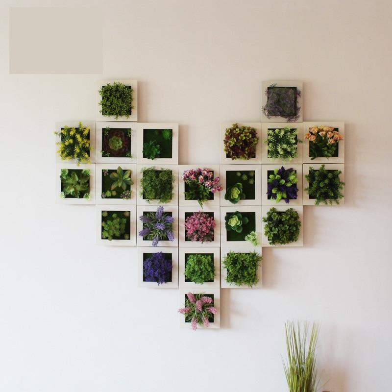 Yaradıcı 3D 3D Süni Bitkilər Ev Divar Stiker Dekorasiyaları - Şənlik aksesuarları - Fotoqrafiya 3