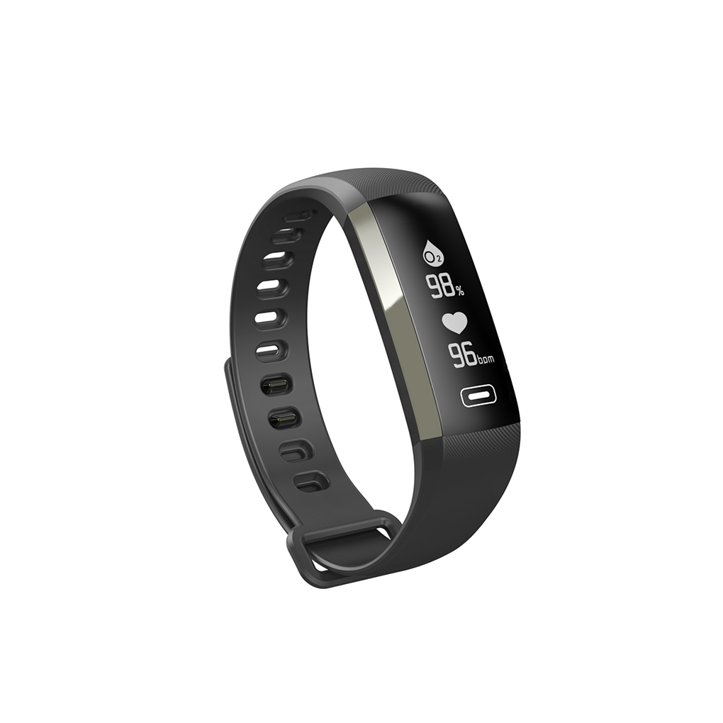 M2S PLUS Smart Wristband Touch Screen Heart Rate Tracker Blood Pressure Monitor Smartband Bracelet