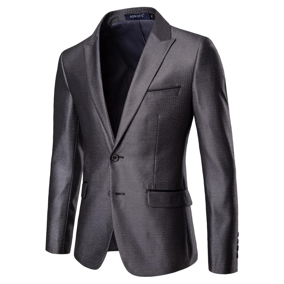 XF009 четыре сезона новый модный мужской костюм два деловые случайные костюмы жениха и жениха свадебное платье блейзер для мужчин - 2